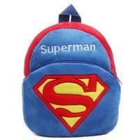 1Color 海外ブランド 人気  オシャレ 可愛い 「スーパーマン リュック キッズ」 子供 キャラクター 使いやすい 安い バック B-1854