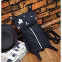 1Color 海外ブランド 人気  オシャレ 可愛い 「BLACK ネコ ショルダーバック」 レディース 大人可愛い フェミニン パンク ロリータ 安い 学生 バック B-1726
