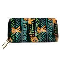 海外ブランド 人気  財布  ライオンキング トラ ライオン 財布 レディース 可愛い シンプル 使いやすい シンバ 安い カジュアル 黒 モード ディズニー ウォレット