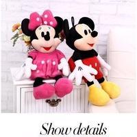 3Collar 海外 ブランド 人気  ミッキーマウス ミニーマウス (100cm)レディース ぬいぐるみ ぬいぐるみ旅行 可愛い 大きい プレゼント 孫 子供 ディズニー好き