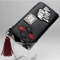 海外 ブランド 人気  長財布 メンズ レディース アリス パンク ゴスロリ 安い プレゼント プレゼント カッコイイ タッセル 黒 ロゴ カジュアル 使いやすい シンプル