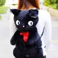 海外 ブランド 人気 黒猫 ジジ ぬいぐるみ リュック kiki 魔女の宅急便 バックパック バックパック女子 可愛い ネコ好き スタジオジブリ オススメ