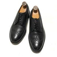 Florsheim Imperial Quality Kenmoor Black Vintage Shoes ウイングチップ