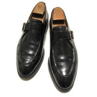 クロケット &ジョーンズ Crockett&jones × VISARUNO Monk Strap Shoes