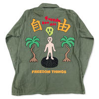 Freedom 70s US Army Cotton Utility remake JKT
