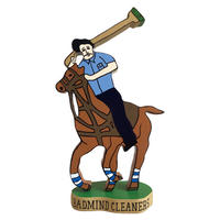 BADMIND CLEANERS POLO Wood Stand