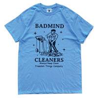 BADMIND Cleaners Mr.nodaka Tee  (carolina blue)