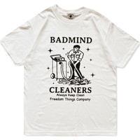 BADMIND Cleaners Mr.nodaka Tee (white)