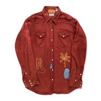 wrangler westren  shirt