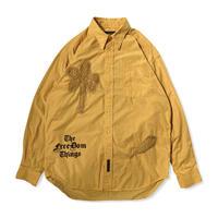 Basho Tree patchwork shirt