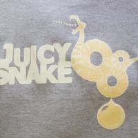 【廃盤SALE】石垣島JUICY SNAKE Tシャツ・130サイズ / グレー