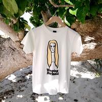 石垣島の人魚Tシャツ・イラストタイプ / ホワイト