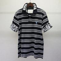 bodysong. BS18031 HRP ポロシャツ(紺系)