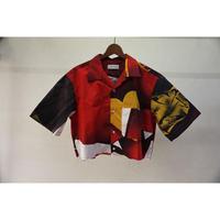 bodysong. BS19011 VALENTINE タペストリーシャツ