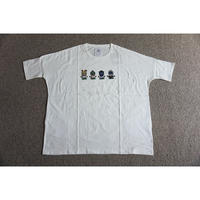 stof MYSTERY刺繍 ゆるいTシャツ(WHITE)