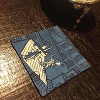 フレンチモンスター「青の冒険」コースター