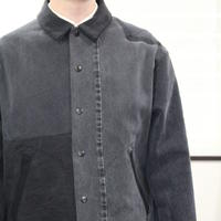 Black Denim Coach Jacket①/フリーサイズ