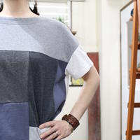 Patchwork Tee-Shirts ⑩/サイズフリー