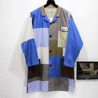 Patch Work² Shop coat ②/フリーサイズ