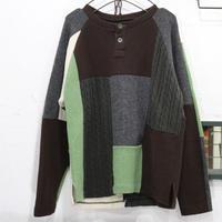 Pw HenlyNeck Sweater L①