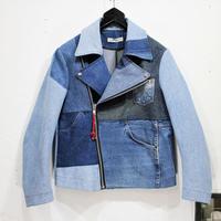 Denim Riders Jacket②/サイズS/ブルー
