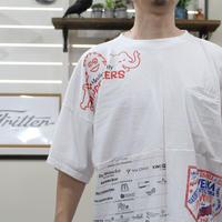 Print Patchwork T-sh②/Lサイズ