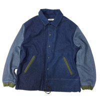 Denim Coach Jacket②/フリーサイズ