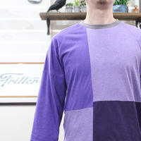 Patchwork Raglan Sleeve②/サイズM