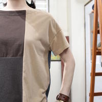 Patchwork Tee-Shirts ⑤/サイズフリー