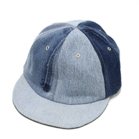 Short brim cap /Denim①