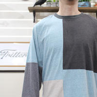 Patchwork Raglan Sleeve②/サイズL