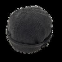 Denim Roll Cap③/サイズL/ブラック