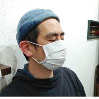 抗菌・抗ウイルス加工素材使用の洗えるプリーツマスク
