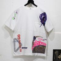 Print Patchwork T-sh⑧/Mサイズ
