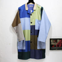 Patch Work² Shop coat ①/フリーサイズ