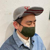 呼吸が楽な超立体マスク‐カーキグリーン‐M/L