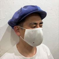 軽くて涼しい1枚仕立ての超立体マスク‐ホワイト‐M/L