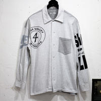 Print Tshirts - Shirts Long④/フリーサイズ