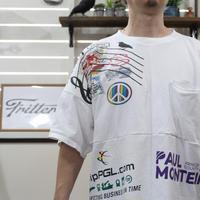 Print Patchwork T-sh①/Lサイズ