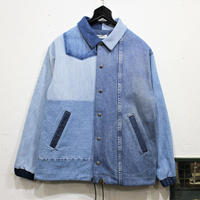 Denim Coach Jacket①/フリーサイズ