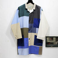 Patch Work² Shop coat ③/フリーサイズ