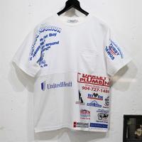 Print Patchwork T-sh⑩/Mサイズ
