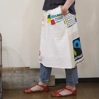 Eco-Gathered skirt④/フリーサイズ