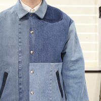Denim Coach Jacket④/フリーサイズ