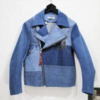 Denim Riders Jacket①/サイズS/ブルー