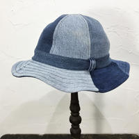 Denim Fatigue Hat①/フリーサイズ/ブルー