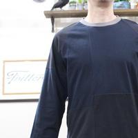Patchwork Raglan Sleeve③/サイズM