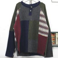 Pw HenlyNeck Sweater L③