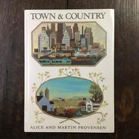 「TOWN & COUNTRY」Alice & Martin Provensen(アリス&マーティン・プロヴェンセン)