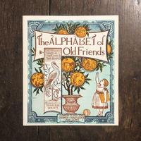 「The Alphabet of Old Friends(オズボーン・コレクション)」Walter Crane(ウォルター・クレイン)